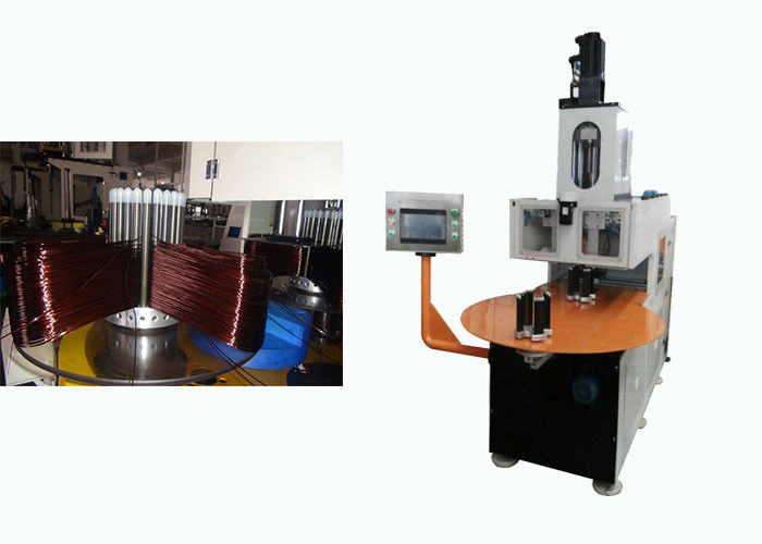 Double Head Automatic Stator Winding Machine  with 6 Slots / 9 Slots