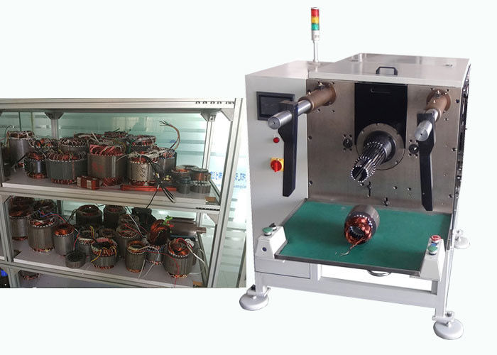 Fan Motor Stator Coil Inserting Machine 60-150 mm Stator ID ISO / SGS Audit
