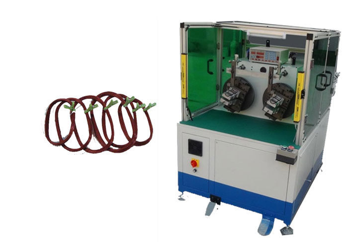 Two Stations Automatic Stator Winding Machine  For Fan Stator 3HP SMT-WR100