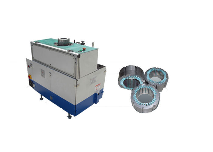 Custom Stator Slot Insulation Paper Inserting Machine / Slot Insulation Machine SMT-C160