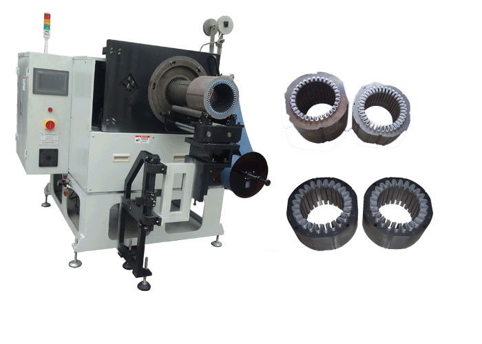 Pump Motor Stator Insulation Paper Inserting Machine AC / DC Motors 3 Phase SMT-CW300