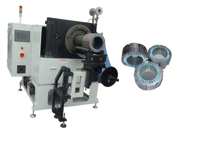 Electric Motor Stator Slot Insulation Paper Insert Machine / AC / DC Motors 1 Phase SMT-CW300