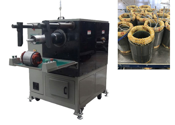 Semi Automatic Coil Winding And Cooper Coil Inserting Machine for Pump / Fan Stator