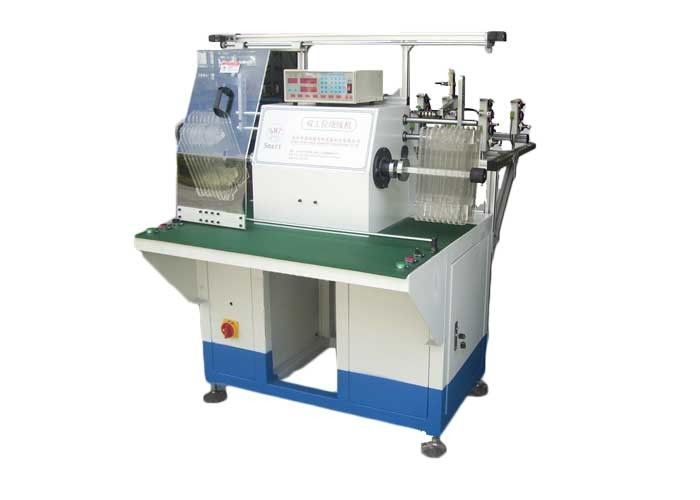 Double Stations & Winding Heads Copper Wire Rolling / Stator Winding Machine