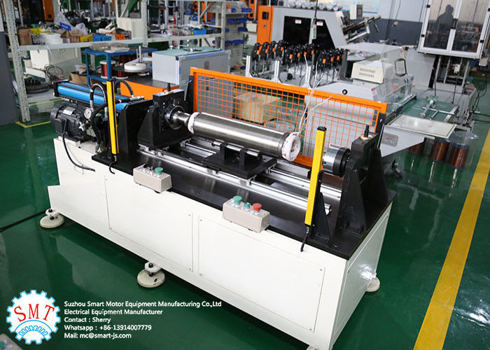 OEM / ODM Horizontal Big Power Stator Coil Winding Machine 4Kw 380V