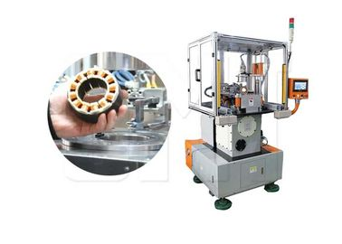 Automatic Stator Needle Winding Machine For Printer BLDC Motor Stator OD 140mm
